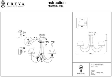 Инструкция / Схема для FR5019CL-05CH