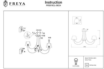 Инструкция / Схема для FR5019CL-08CH