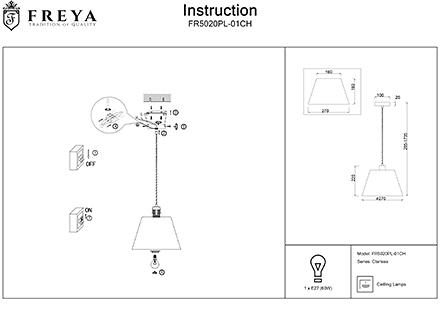 Инструкция / Схема для FR5020PL-01CH