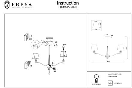 Инструкция / Схема для FR5020PL-08CH