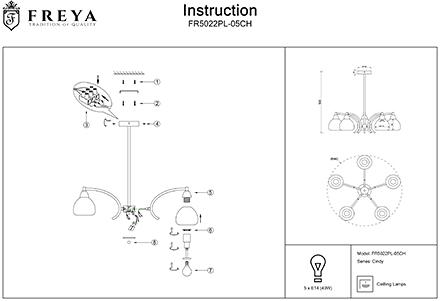 Инструкция / Схема для FR5022PL-05CH