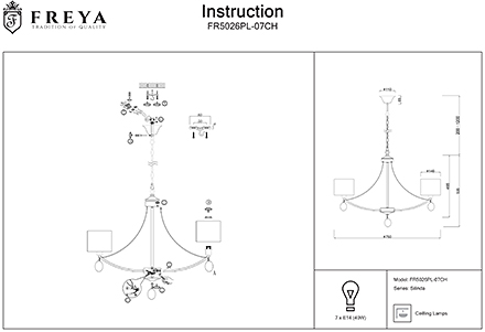 Инструкция / Схема для FR5026PL-07CH