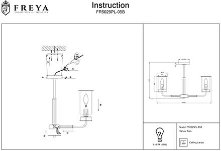 Инструкция / Схема для FR5029PL-05B