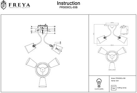 Инструкция / Схема для FR5030CL-03B