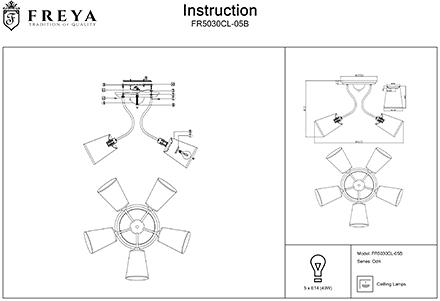 Инструкция / Схема для FR5030CL-05B