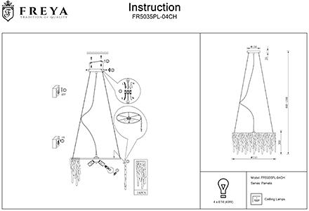 Инструкция / Схема для FR5035PL-04CH
