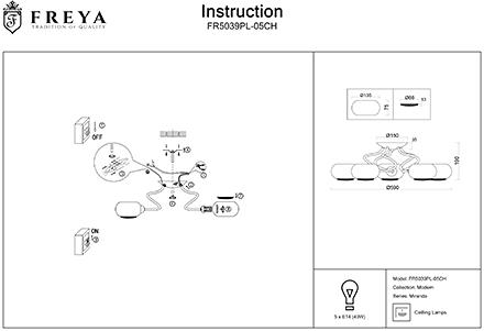 Инструкция / Схема для FR5039PL-05CH