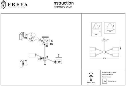 Инструкция / Схема для FR5040PL-06CH