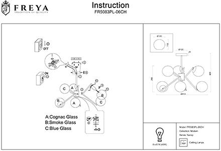 Инструкция / Схема для FR5083PL-06CH
