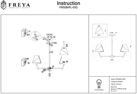 Инструкция / Схема для FR5084PL-05G