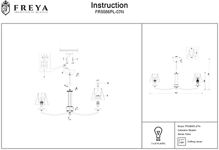 Инструкция / Схема для FR5086PL-07N