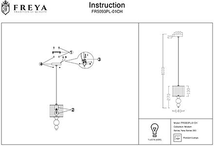 Инструкция / Схема для FR5093PL-01CH