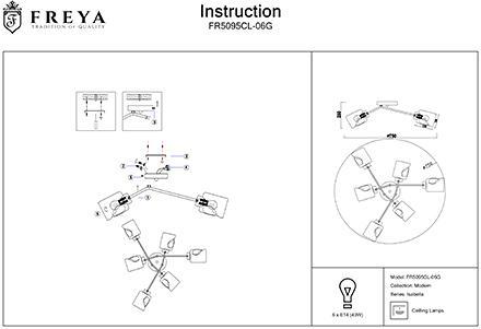 Инструкция / Схема для FR5095CL-06G