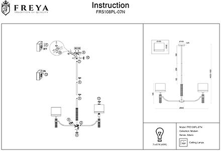 Инструкция / Схема для FR5108PL-07N