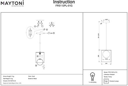 Инструкция / Схема для FR5113PL-01G