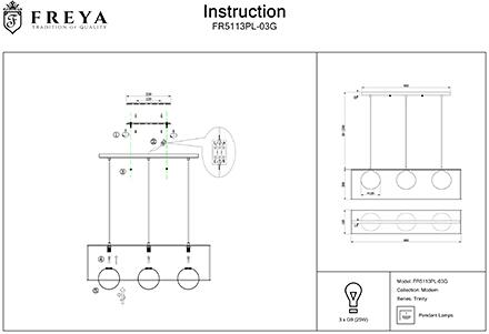 Инструкция / Схема для FR5113PL-03G