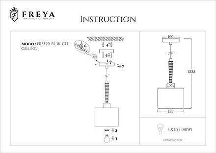 Инструкция / Схема для FR5329-PL-01-CH