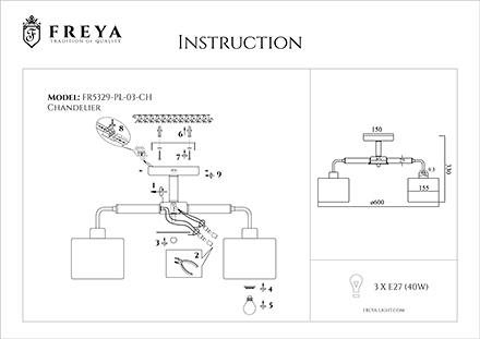 Инструкция / Схема для FR5329-PL-03-CH
