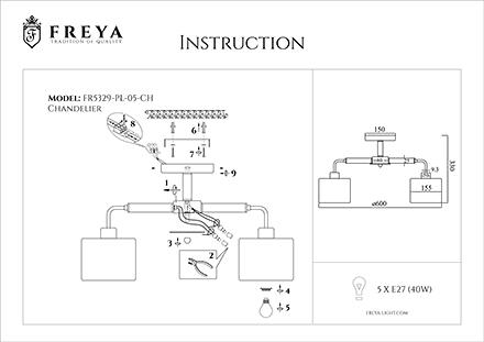 Инструкция / Схема для FR5329-PL-05-CH