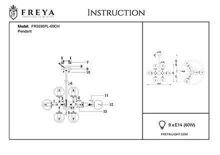Инструкция / Схема для FR5596PL-09CH