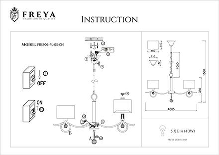 Инструкция / Схема для FR5906-PL-05-CH