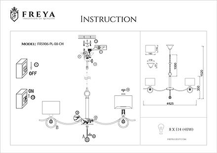 Инструкция / Схема для FR5906-PL-08-CH