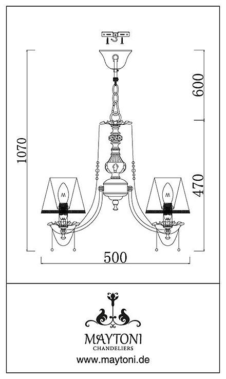 Инструкция / Схема для ARM305-03-W
