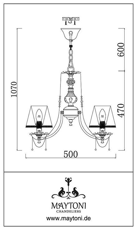 Инструкция / Схема для ARM305-05-W