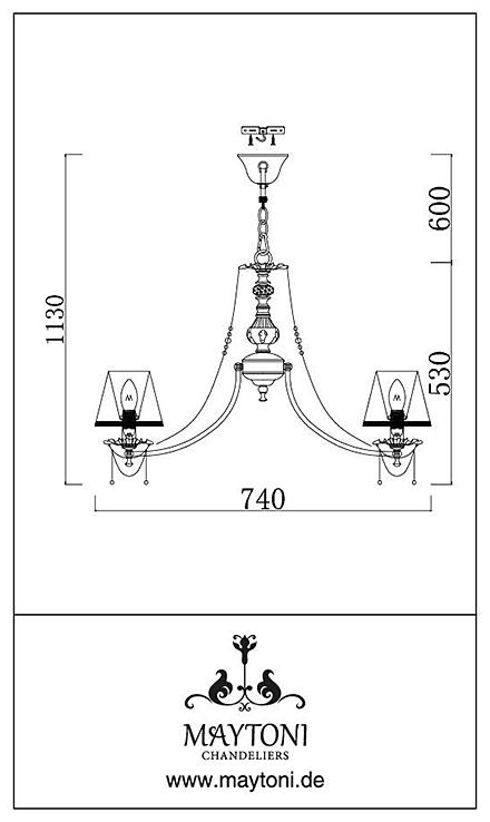 Инструкция / Схема для ARM305-07-W