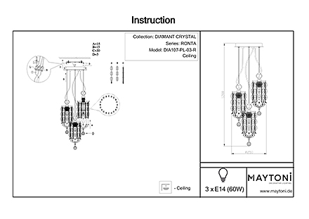 Инструкция / Схема для DIA107-PL-03-R