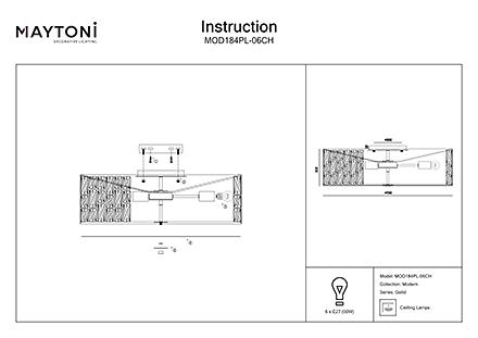Инструкция / Схема для MOD184PL-06CH