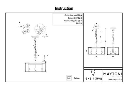 Инструкция / Схема для MOD202-06-N