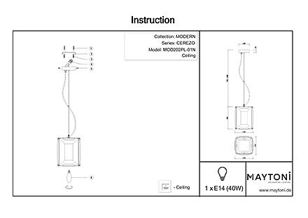 Инструкция / Схема для MOD202PL-01N