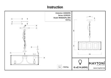 Инструкция / Схема для MOD202PL-06N