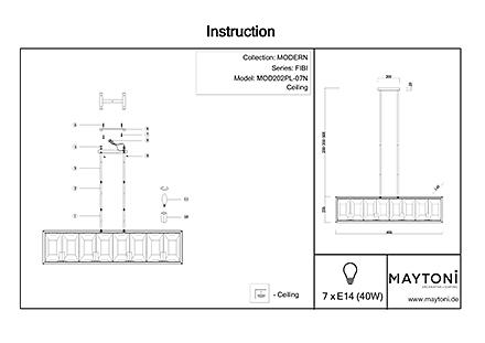 Инструкция / Схема для MOD202PL-07N