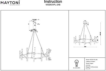 Инструкция / Схема для MOD031PL-24B