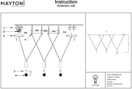 Инструкция / Схема для MOD035PL-03B