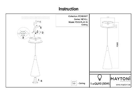Инструкция / Схема для P318-PL-01-N